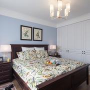 小户型美式卧室