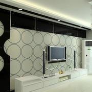 138平米精致型影视墙装修效果图大全