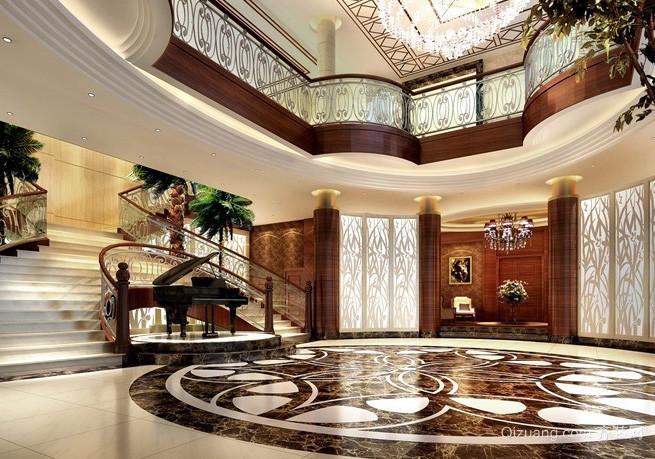 自然风格私人别墅设计装修效果图
