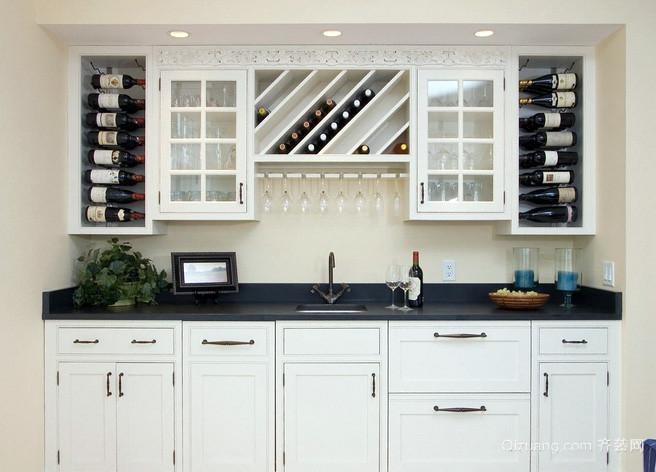 小户型欧式简约一体式厨房橱柜装饰