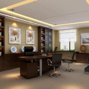 现代精致的都市办公室装修效果图鉴赏