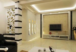 别墅精心设计影视墙足彩导航效果图大全