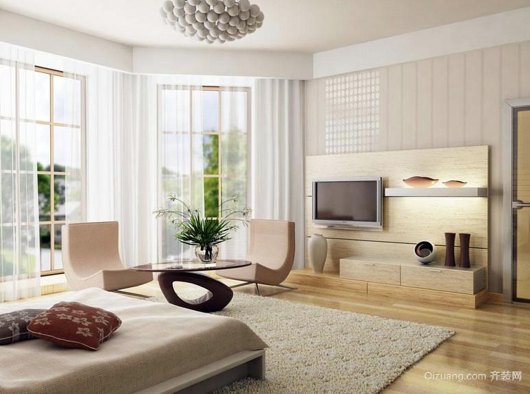 大户型时尚风格房间设计效果图
