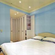 小户型卧室背景墙欣赏