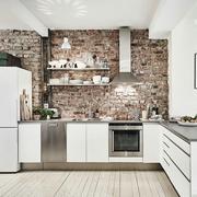 小户型厨房墙面欣赏
