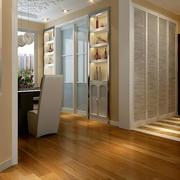 小户型简约风格白色系玄关隔断装修设计