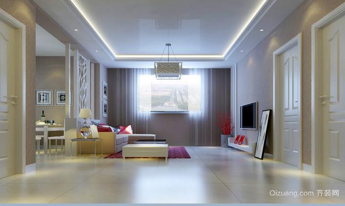 大户型精致风格客厅装修效果图