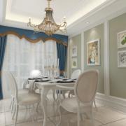大户型欧式精致的餐厅装修效果图欣赏