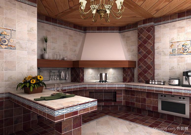 大户型宜家风格厨房装修效果图