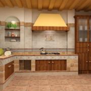 精致的欧式小户型厨房装修设计效果图