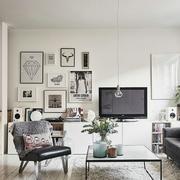 小户型客厅电视背景墙