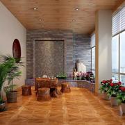 三居室怡情系列阳台装修效果图