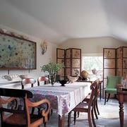 100平米房屋美式餐厅装饰