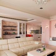 小户型客厅沙发展示