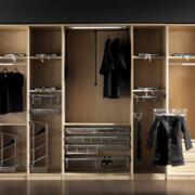 现代唯美欧式大户型整体衣柜装修效果图