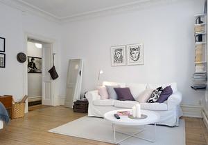 小户型简洁客厅