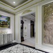 新古典大别墅玄关装修设计效果图