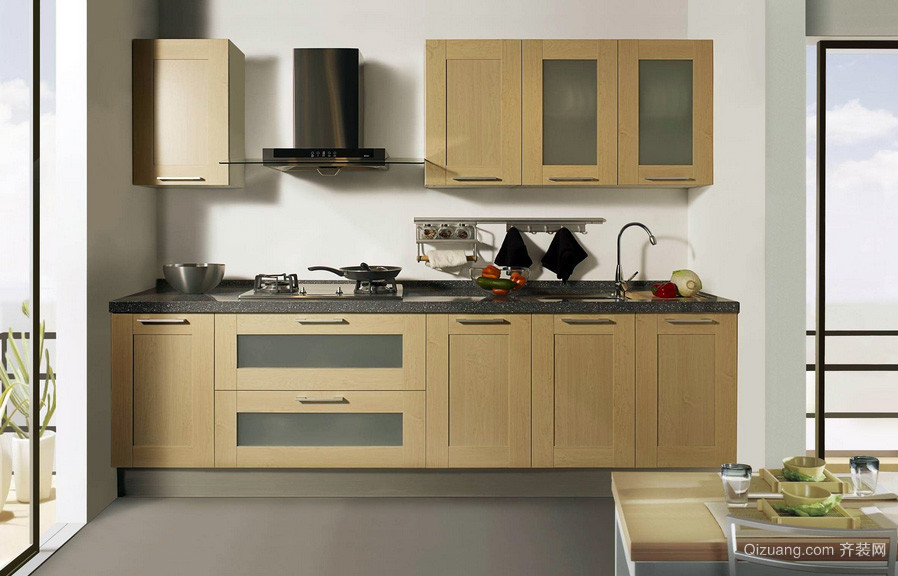 二居室小型厨房装修效果图