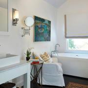 100平米房屋简约卫生间装饰
