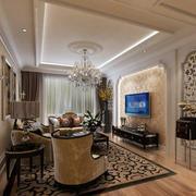 时尚风格欧式客厅装修