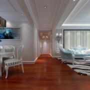 欧式别墅型走廊吊顶装修效果图
