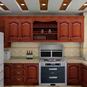 大户型时尚风格厨房装修效果图