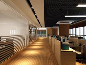 后现代风格写字楼办公室吊顶装修效果图