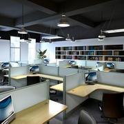 100平米后现代风格写字楼办公室装修效果图