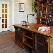 小户型书房实木书桌