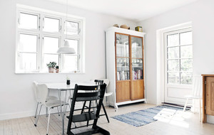 110平后现代房屋装修内部实景图