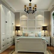 现代大户型卧室榻榻米装修效果图