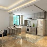 100平米创意厨房装修效果图