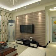 118平米田园风格风格客厅装修效果图