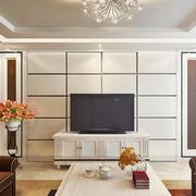 后现代风格老房电视柜装饰