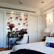 24平米简约卧室壁纸装修效果图片大全