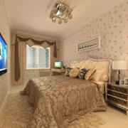 现代精致的欧式小户型卧室装修效果图鉴赏