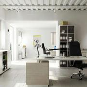 商务大楼时尚风格办公室装修效果图