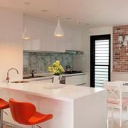 小户型开放式厨房吧台