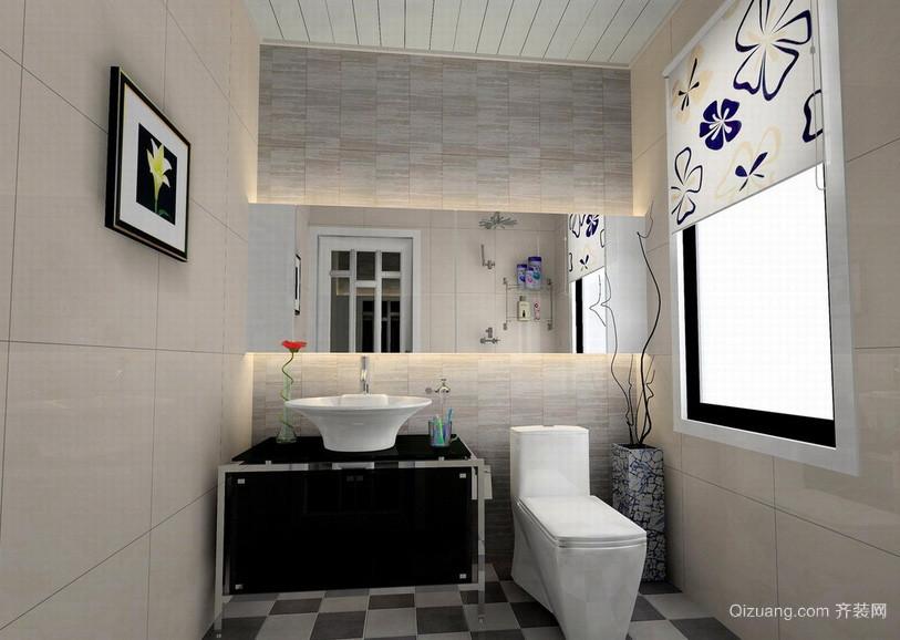 现代小户型家居卫生间装修效果图
