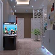 现代简约家居玄关柜装修设计效果图