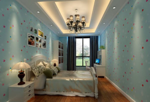 现代舒适的大户型儿童房装修效果图鉴赏