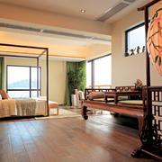 新房主卧室中式装潢