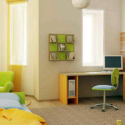 118平米简约风格儿童房设计装修效果图