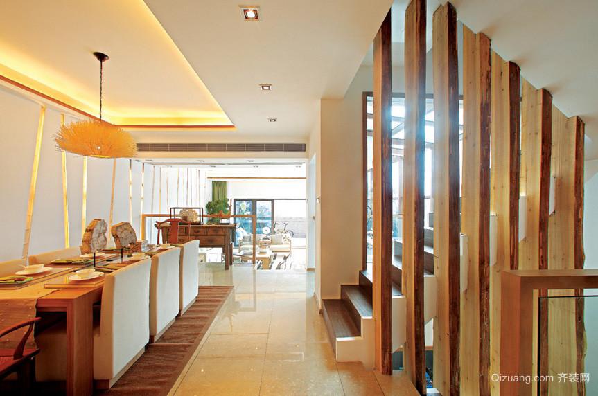 浅中式大别墅新房装修设计效果图