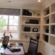 30平米美式样板房书房装修效果图