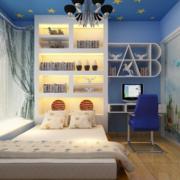 现代经典的大户型儿童房装修效果图实例