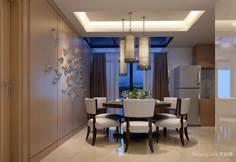 新中式风格时尚家居餐厅装修效果图