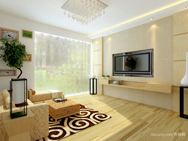 120平米欧式风格新房装修效果图