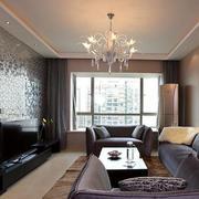 欧式经典风格客厅石膏板吊顶装饰