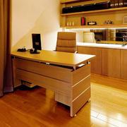 新房书房书桌展示